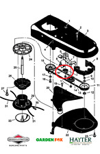 Genuine Hayter Power Trim wheeledstrimmer Cintura TENDICATENA PULEGGIA 740183 mA 740183 132