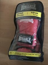 Lonsdale Red Spar Gloves - 10 Oz Sz Large - Only Used Once Or Twice