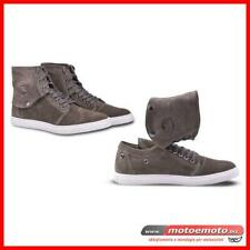 Scarpe moto Royal Enfield Sneakers Detch Ankle Guard Olive Grey Vintage Custom