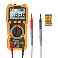 Ingco Manual Ranging Tester Digital Multimeter Trms 6000 Counts Dm7502