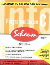 Programación en C. Serie Schaum 2ª Edición revisada. ENVÍO URGENTE (ESPAÑA)
