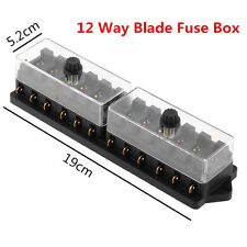 mitsubishi lancer fuses fuse boxes durable car truck dc12v 12 way standard blade block fuse box holder circuit kit