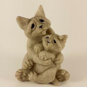 Quarry Critters Celine & Cleo, Stoneware Cat Ornament