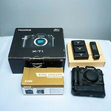 Fujifilm X-T1 16.3MP Digital SLR Camera - body with battery grip-extra batteries