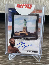 "2012 Topps UFC/Bloodlines ~ JON JONES (#54/99) ""PATRIOTIC PATCH"" AUTO RELIC CARD"