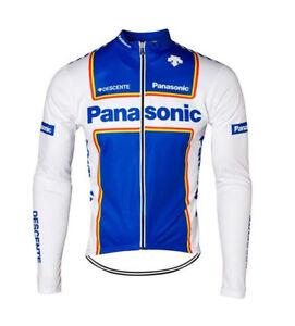 Panasonic Retro Cycling Jersey Long Sleeve