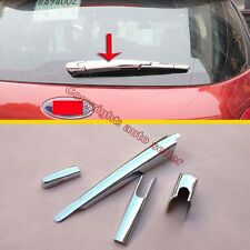 ABS Chrome Rear Window Wiper Nozzle Cover Trim For Ford Everest 2016 2017 2018