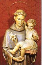 14 Sant'Antonio di Padova Santino Holycard
