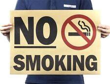 Fd3312 Retro Vintage No Smoking Mark Scale Map Paper Posters Club Decor 51*35cm