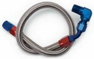 EDELBROCK BBC S/S Braided Fuel Line Kit - Use w/8134 P/N - 8124
