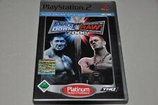 PLAYSTATION 2 gioco-SMACKDOWN VS RAW 2006-Wrestling tedesco completo ps2 OVP