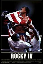 Rocky 4 Movie POSTER 27 x 40, Sylvester Stallone, Talia Shire, A, LICENSED NEW !