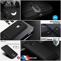 Etui Coque Housse Silicone Carbone TPU case cover skin MOTOROLA Moto Collection