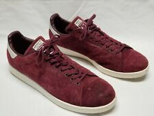 Adidas Stan Smith Leather Suede Purple Tennis Shoes Sneakers Men US 19, UK 18