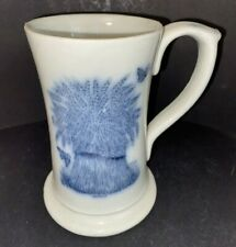 More details for victorian .imperial.half pint. measure. pottery. ale. mug. mochaware