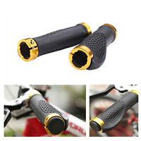 1 pair Cycling MTB Bike Bicycle Comfortable Handlebar Rubber Grips Lock On