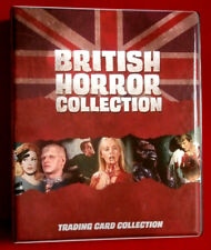 BRITISH HORROR COLLECTION - OFFICIAL TRADING CARD BINDER + 12 ULTRA PRO PAGES