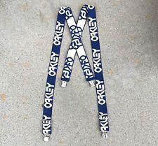 Oakley Vintage Suspenders Early 80's - Blue/White