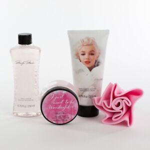 Marilyn Monroe Oval Bag Bath Set - 4 Piece