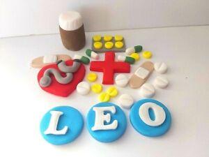 3D HANDMADE NURSE NHS OTHER JOB CAKE TOPPER// birthday