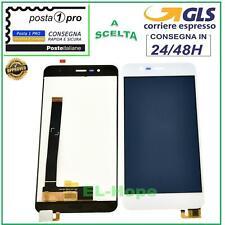 DISPLAY LCD ASUS ZENFONE 3 MAX ZC520TL X008D 5,2'' TOUCH SCREEN VETRO BIANCO