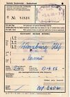 Nr.20377 2 Eisenbahn Fahrscheine Würzburg - Schärding 1956   O.Ö.