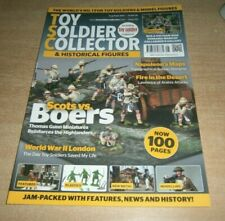 Toy Soldier Collector magazine #101 Aug/Sep 2021 Scots vs Boers, WWII London &