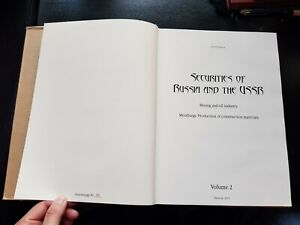 Securities of Russia and USRR  Goryanov catalog vol. 2 oil, mines