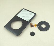 Black Front Housing Case Cover Clickwheel Button for iPod 6th Classic 80GB 160gb