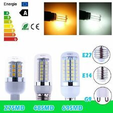 E27 E14 G9 Bayonet 4.5W 6W 8W 5050 SMD LED Corn Light Spot Down Bulbs 1/10/20x