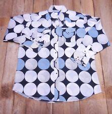 Panhandle SLim Vintage Abstract Men's Shirt-Cowboy-Poly-Pongee-XL-USA-Rockabilly