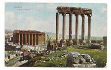 baalbek   les deux temples    a.k