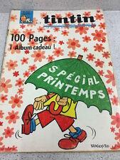 TINTIN  N°910 18e ANNEE  31 MARS 1966 REVUE MAGAZINE VINTAGE