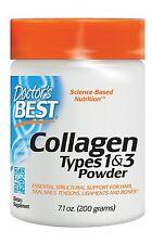 Colageno Hidrolizado En Polvo Con Vitamina C 7.1 Onzas De Colageno Puro Natural