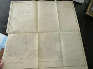 Minots Ledge, off of Boston harbor, 1853 US Coast Survey , Wash DC