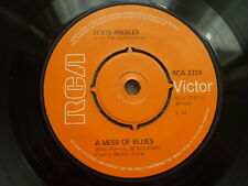 Elvis Presley - A Mess Of Blues / The Girl Of My Best Friend - RCA 2729