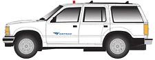 Atlas # 30000085 1993 Ford Explorer w/Rotary Beacon(Non-Operating) Amtrak HO MIB