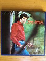 Tom Jones It's Not Unusual Reel To Reel 4 Track  3.3/4