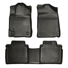 Husky Liners WeatherBeater Floor Mats - 3pc - 98511 - Toyota Camry 07-11 - Black