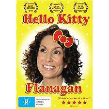 Hello Kitty Flanagan DVD - NEW & SEALED! Region 4