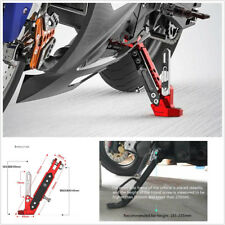 Motorcycle Alloy Adjustable Side Tripod Holder High Quality Styling Fall Protect