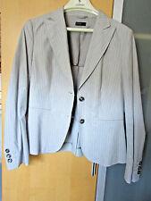 Benetton Sommer Blazer Jacke Größe 38 gestreift wenig getragen