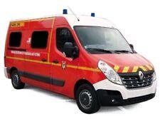 """Renault Master 2014 """"pompiers"""" 1 64 Model Norev"""
