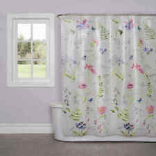 Floral Bathroom SOFT NATURE Shower Cutain