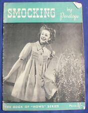 Penelope 'Smocking' Crochet Pattern Book [BOT]