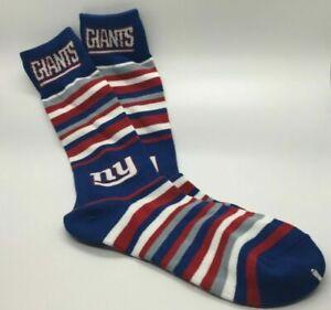 New York Giants Socks Football Knee High Argyle Dress Christmas Men Women New