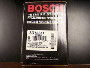Bosch SR7523X Remanufactured Starter fits Crown Victoria Town Car Grand Marquis