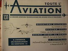 TOUTE L'AVIATION 132  / KUWAIT AIRWAYS / Mc DONNELL F4 FANTHOM / ARADO AR 196