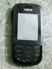 for nokia 3600 full body panel ,faceplate, housing, new black replacement