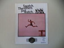 advertising Pubblicità 1994 SWATCH AQUACHRONO WATERPOWER